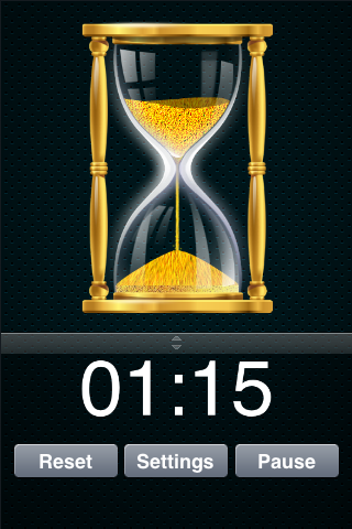Hourglass Timer Screenshot